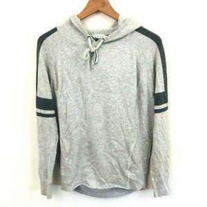 Athleta Gray Hoodie Sweatshirt
